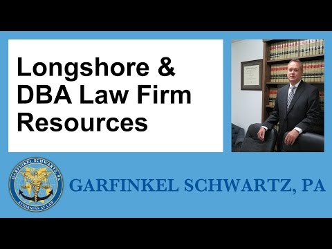 Longshore & DBA Law Firm Resources
