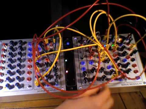 serge modular synth demo seq a creature youtube. Black Bedroom Furniture Sets. Home Design Ideas