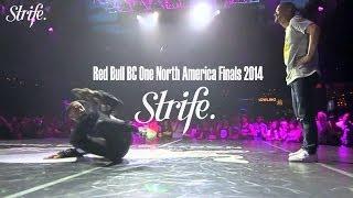 Toyz vs Gravity | Red Bull BC ONE North America 2014 | Strife.TV