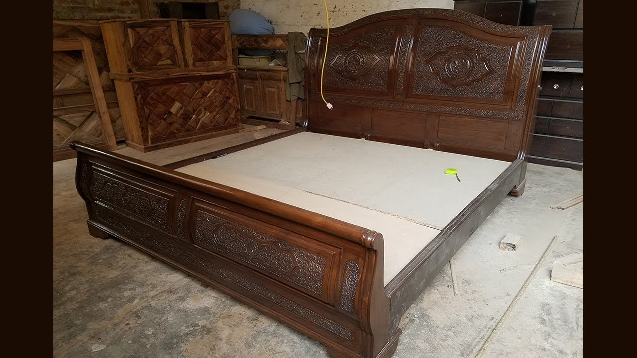 Latest Wooden Furniture In Peshawar Slay Bed Design 2019