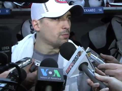 Tomas Plekanec - Capitals fall  3-2 in overtime to Canadiens