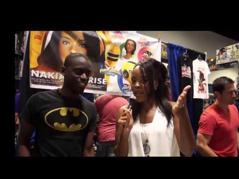 geekuptv @ Tampa Comic Con 2014 Nakia Burrise  Steve Cardenas interview