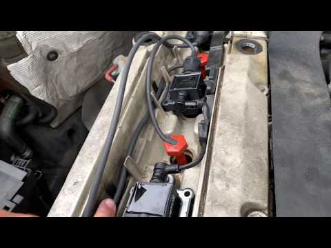 mercedes m104 ignition tune up job!