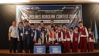 Juara Bertahan Polines Roboline Contest PRC 2020 | TIM ATOM SD MUHAMMADIYAH PLUS