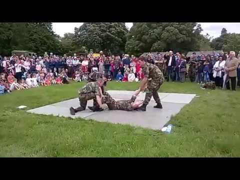 Irish Defence Force Unarmed Combat Demonstration