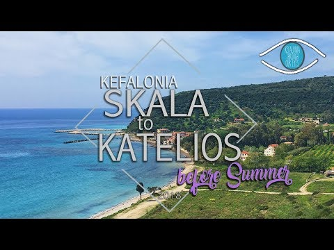 Driving to Skala and Katelios Before Summer Begins