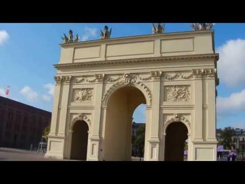 Potsdam's Brandenburg Gate, Potsdam, Brandenburg, Germany