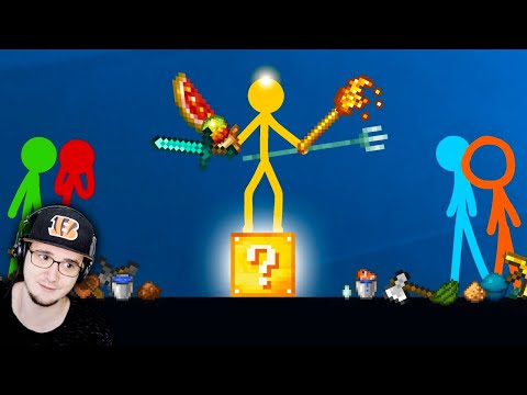 Animation vs. Minecraft ► ЛАКИ БЛОКИ -  Ep 19 (Анимация против Майнкрафта) - Lucky Blocks | Реакция