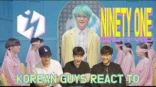 "Korean Guys React to ""E.Yeah"" by Ninety One"