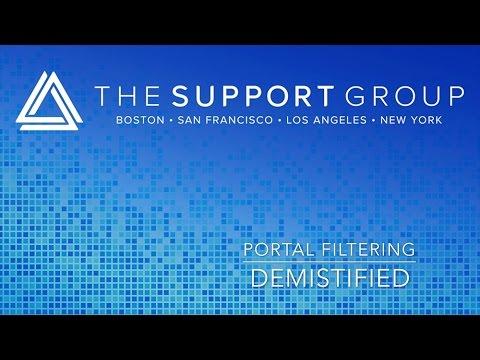 Filtering Portals