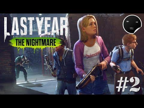 Last Year: The Nightmare Стрим #2 | Хоррор в кооперативе
