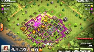 750K LOOT// Clash of Clans Nice Raids #2