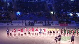 Представление команд Токио Верди и Брага на Чемпионате мира по пляжному футболу