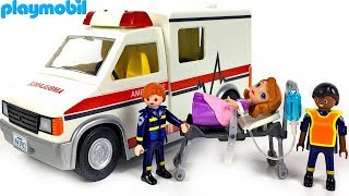 UNBOXING PLAYMOBIL CITY ACTION RESCUE AMBULANCE