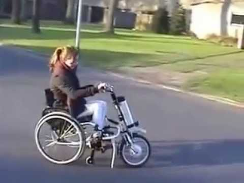 Spectacular motorized wheelchair youtube for How to motorize a wheelchair