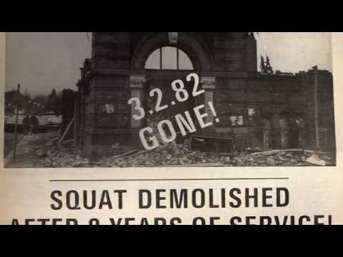 Dr. CP Lee on The Squat, Manchester University, 1971-82