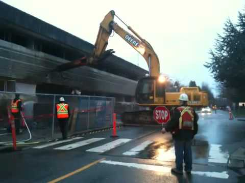 UBC Law Building Demolition
