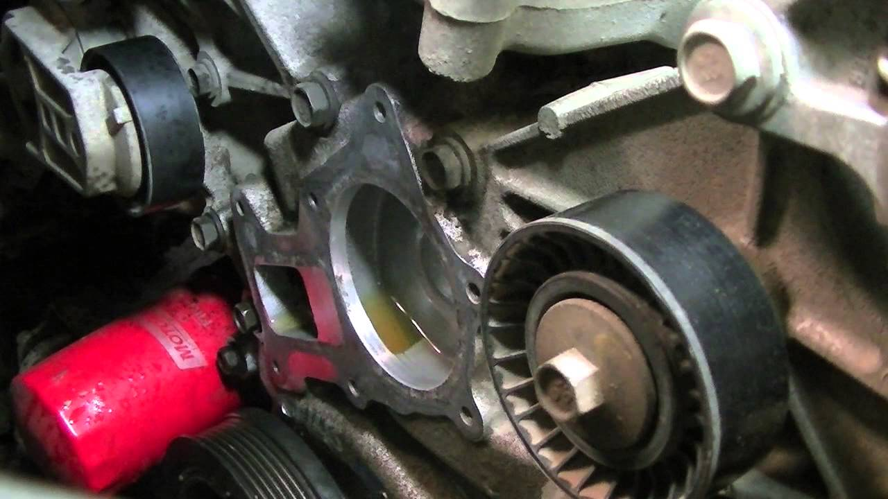 Jeep Jk Waterpump Replacement Youtube