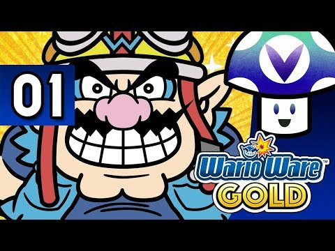 [Vinesauce] Vinny - WarioWare Gold (part 1) + Art!