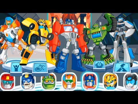 Transformers Rescue Bots: Disaster Dash - Hero Run - All Hero Rescue Bots Special Missions #1