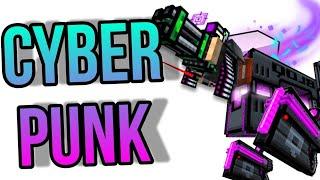 Nuevo Pase De Batalla Cyberpunk 🤑👌|SalvaPG3D [PixelGun3D]