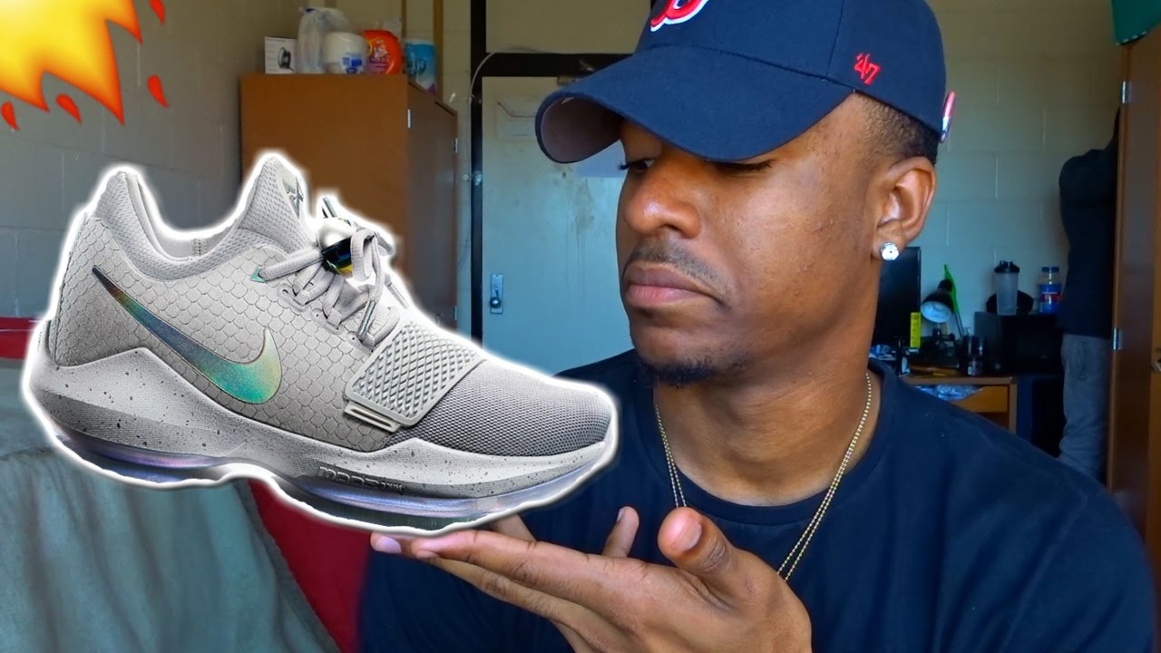 newest collection a80cf 7cdbb PAUL GEORGE NEW SHOES NIKE PG1 + INITIAL THOUGHTS