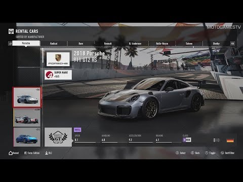 All Cars from Forza Motorsport 7 (28.09.2017)