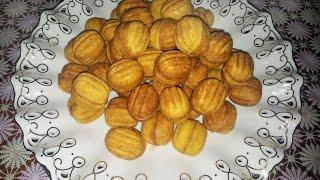 Орешки со сгущенкой. Простой и быстрый рецепт печенья