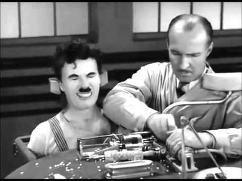 Cena épica de Tempos Modernos, de Charles Chaplin - YouTube