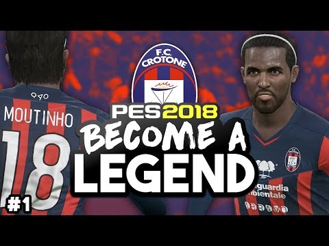 "BECOME A LEGEND! #1 |PES 2018! | ""OFF WE GO AGAIN!"""