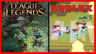 egy kis roblox utana league of legends ranked a baratomal