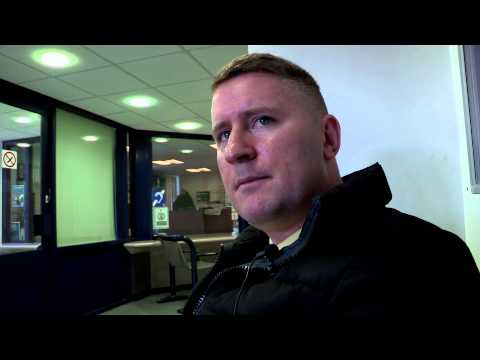 Paul Golding arrested - talks about Christianity