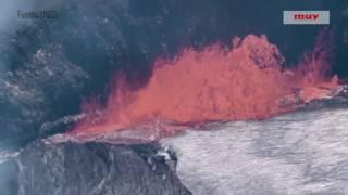El volcán Kilauea en 4K