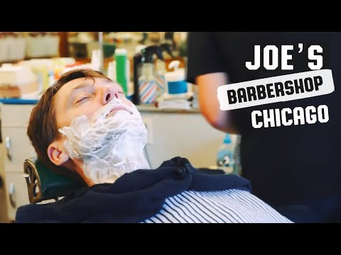 HairCut Harry's Hangover Shave Sunday Experience at Joe's Barber Shop Chicago IL