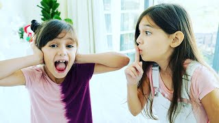 Don't Choose The Wrong Sound Challenge! Sis vs Sis | Emily and Evelyn