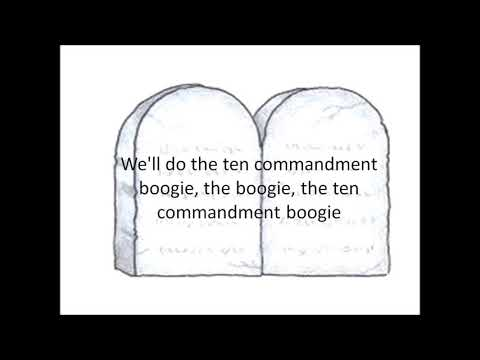 Ten Commandment Boogie  lyrics