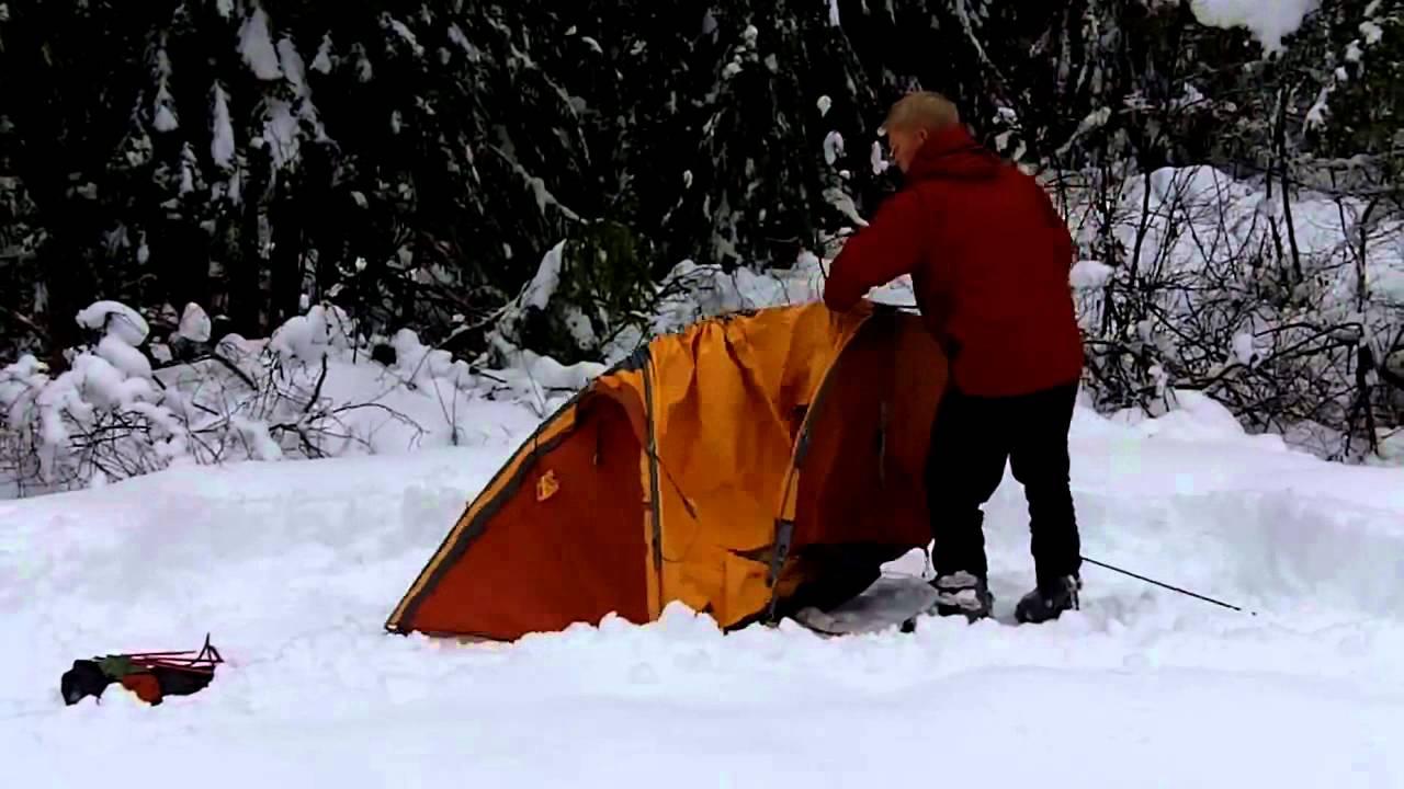 Exped Polaris Tent set up/ ???? ???? & Exped Polaris Tent set up/ ???? ???? - YouTube
