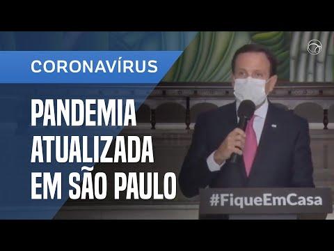 JOÃO DORIA FALA AGORA SOBRE O COMBATE À PANDEMIA DO CORONAVÍRUS