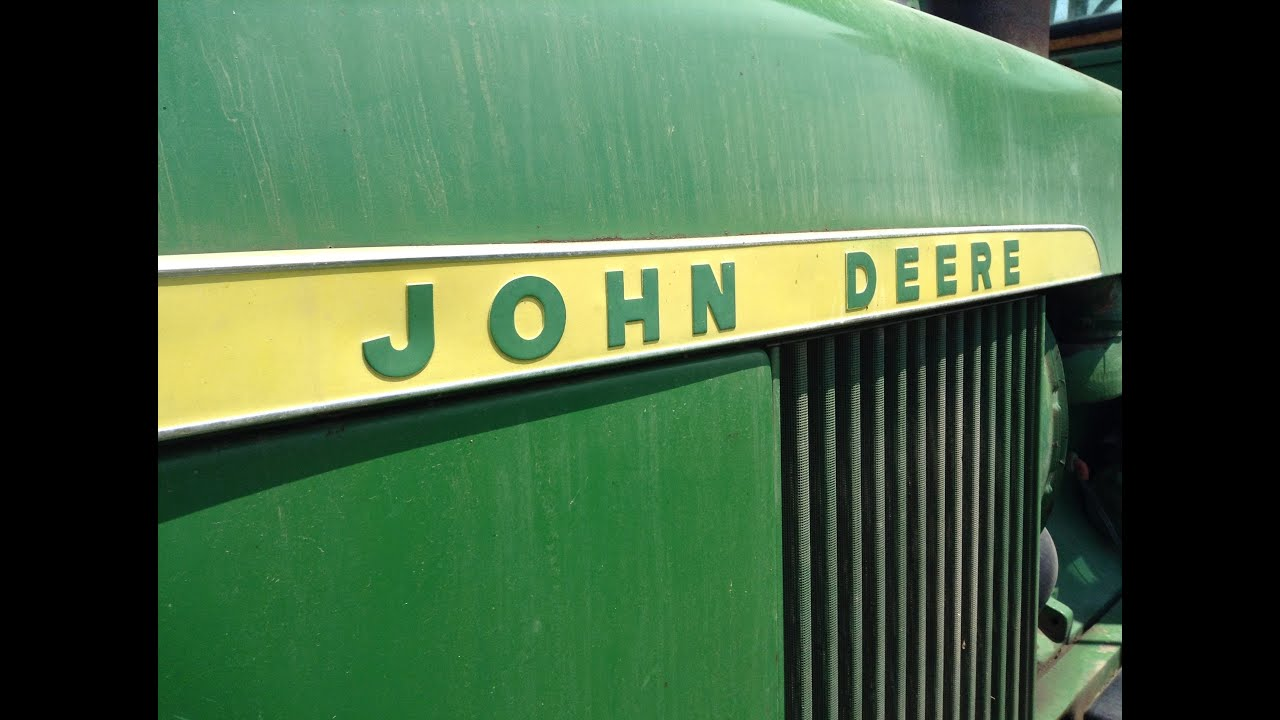 how to operate a tractor john deere 4020  [ 1280 x 720 Pixel ]