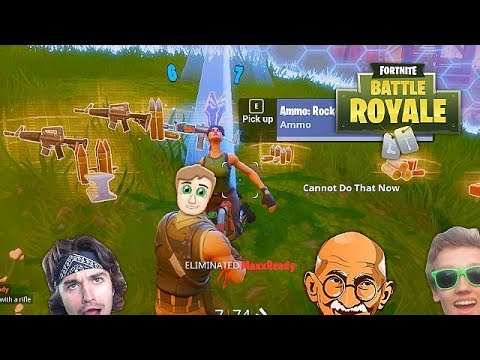 FORNITE WITH THE RED HOUSE!!!