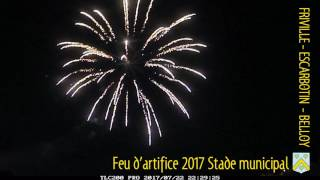 2017 feu artifice au stade municipal