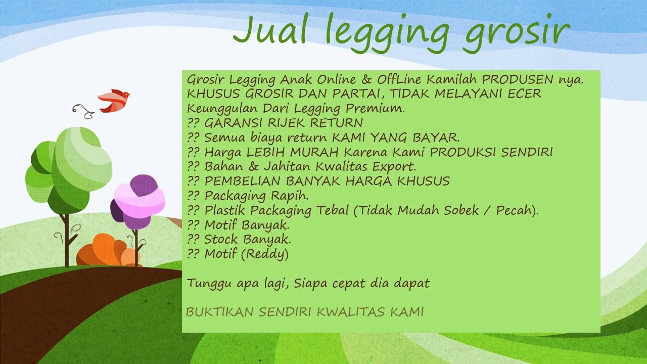 Diskon Wa 0852 9505 4661 Model Legging Anak Perempuan Youtube