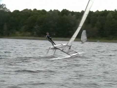 Damian Kazimierczak Konstantynów łódzki Seria Extreme Sailing 2011r..mp4