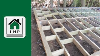 Building a Shed Base and Foundation - LHP
