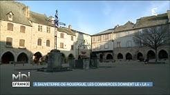 Portrait de jeunes commerçantes à Sauveterre-de-Rouergue