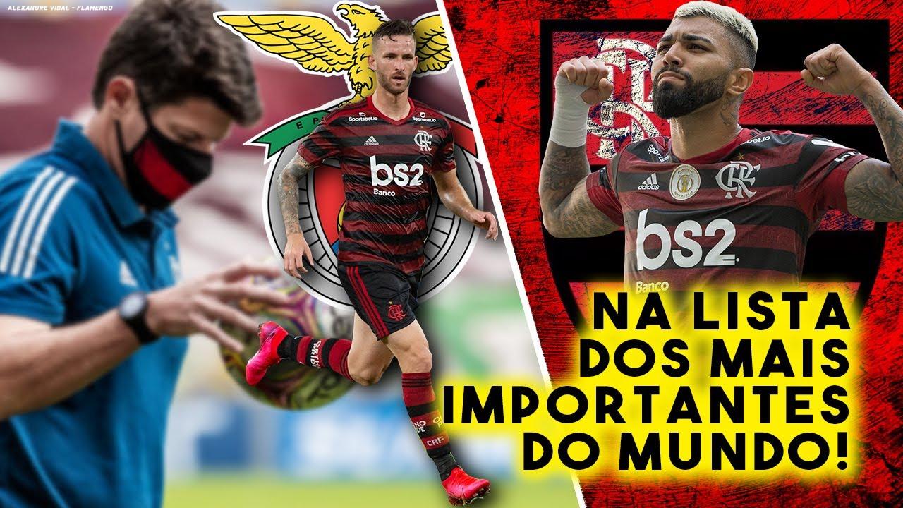Gabigol aparece na lista dos mais IMPORTANTES do Mundo! Flamengo AO VIVO