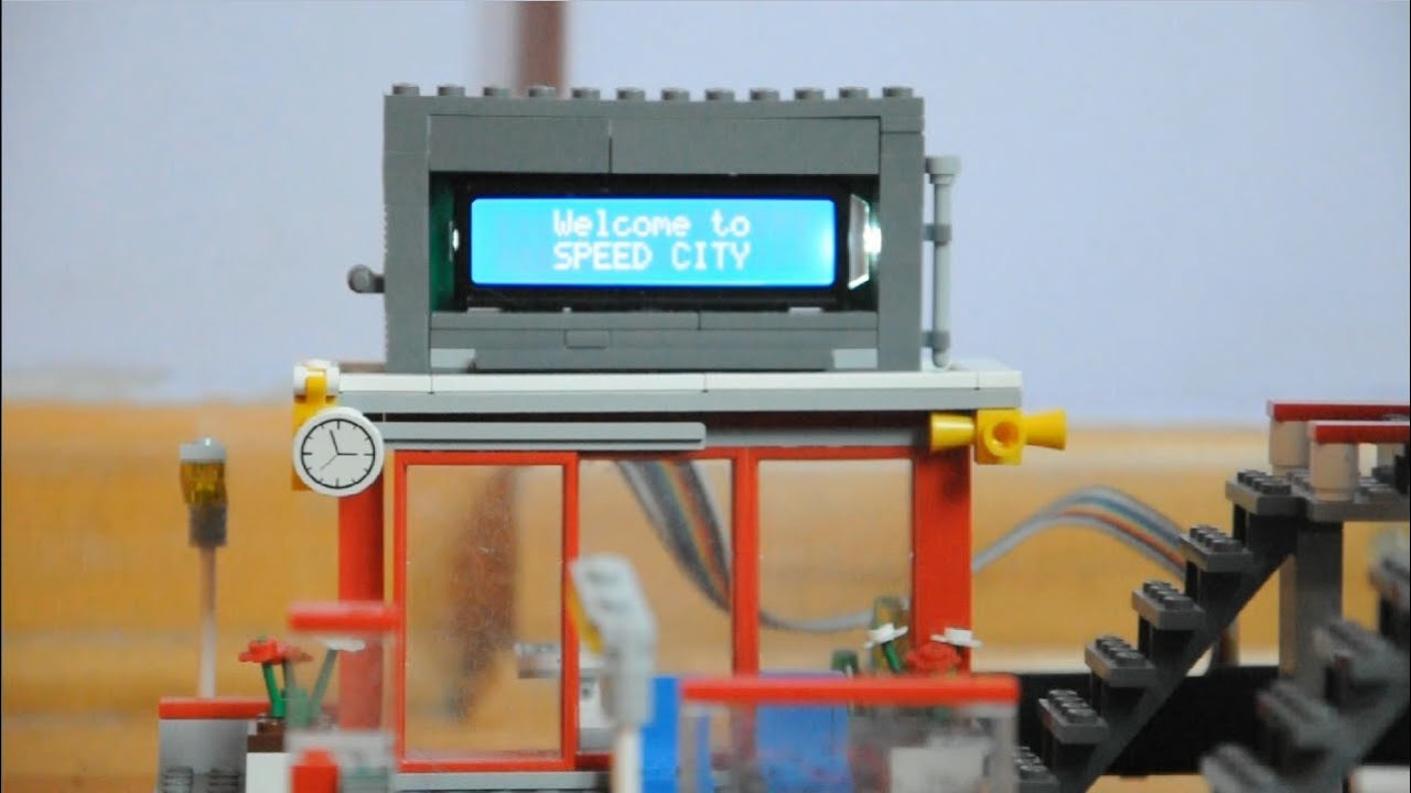 Arduino for lego trains lcd screen youtube