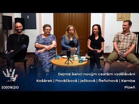 Dejme šanci novým cestám vzdělávání | Beseda | Plzeň 10.9.2020