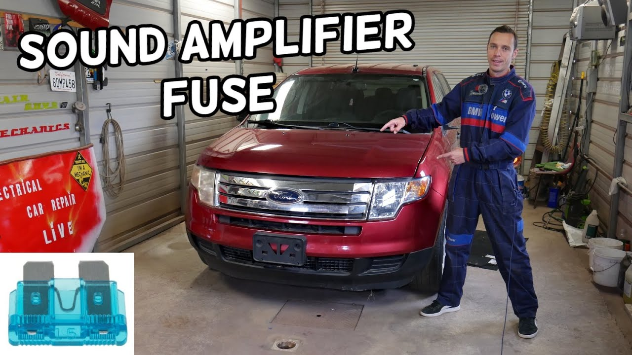 Ford Edge 2015-2018 Factory Speaker Upgrade Package ...  |Ford Edge Subwoofer