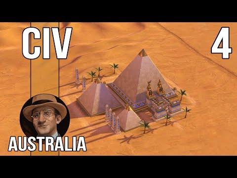 THE FAMOUS CANBERRA PYRAMIDS - Let's Play Civilization 6 as Australia - Part 4